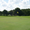 A view of green #1 at Championship from Boca Dunes Golf & Country Club